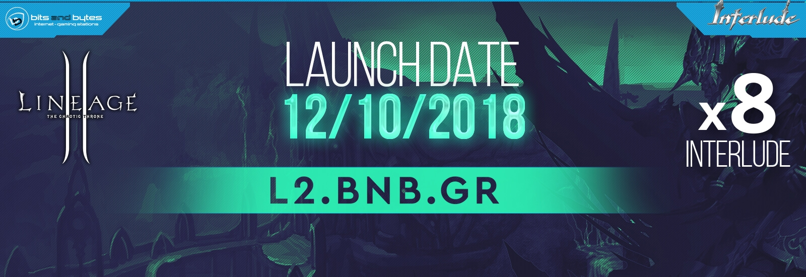 L2 BNB Interlude Core x8 - 12/10/2018