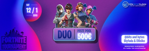 Duo Fortnite Tournament 12/1/2019