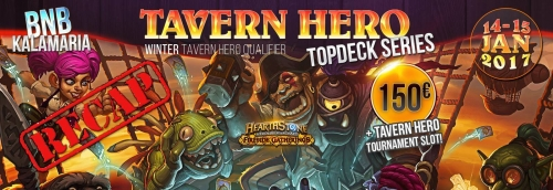 Tournament Recap: Tavern Hero Top Deck #1 @ BNB Καλαμαριάς