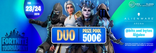 Duo Fortnite Tournament 23/2/2019 @ BNB ΑΙΓΑΛΕΩ