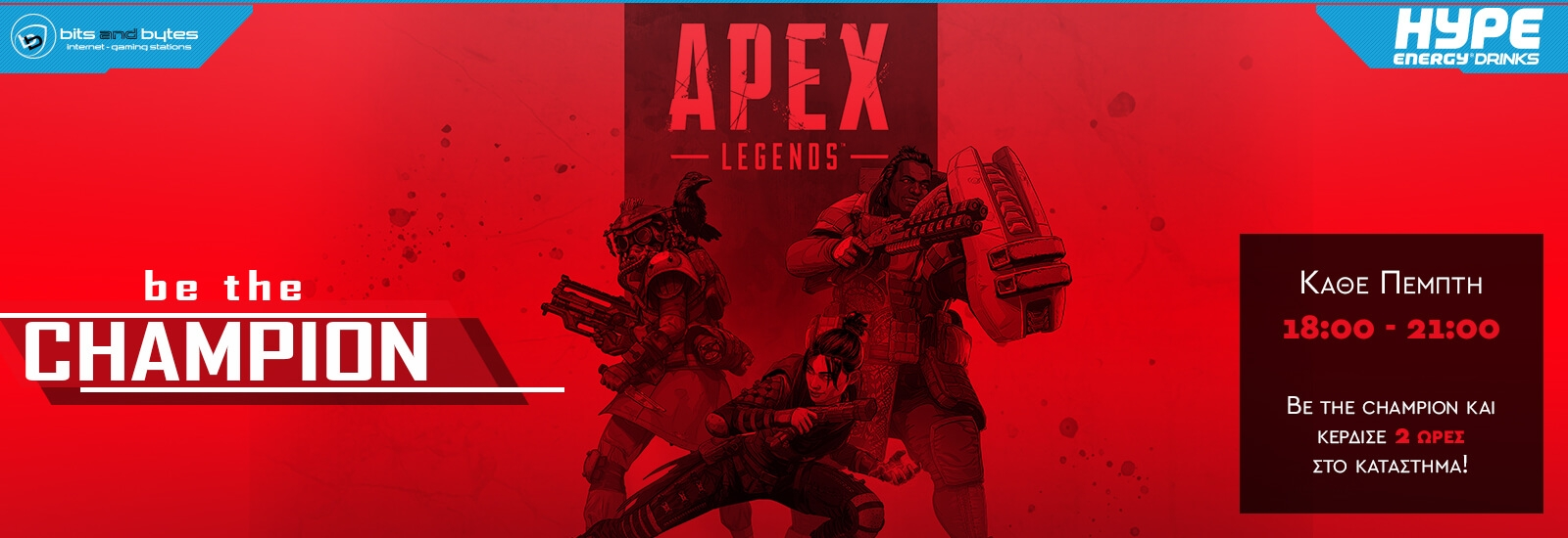 Apex Legends Weekly @ BNB