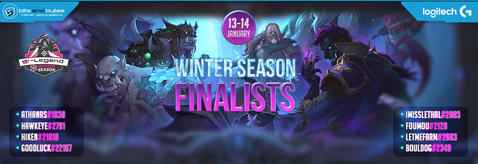 Hearthstone B-Legend Winter Season LAN Finals 13/1/18