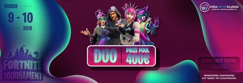Duo Fortnite Tournament 9/3/19 @ BNB Χανιά