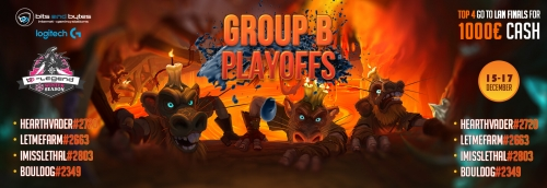 Hearthstone B-Legend Playoff Group B Winter Season