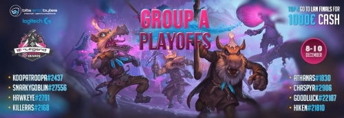 Hearthstone B-Legend Playoff Group A Winter Season