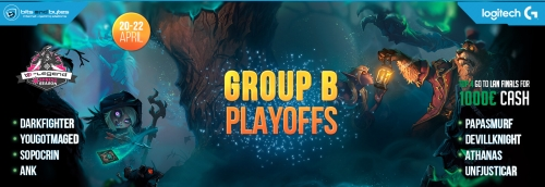 Hearthstone B-Legend Playoff Group B Spring Season