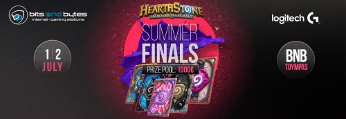 Hearthstone B-Legend LAN Finals @ 1-2 Jul