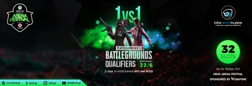 Xbox Arena Festival Sponsored by Vodafone - PUBG Qualifiers
