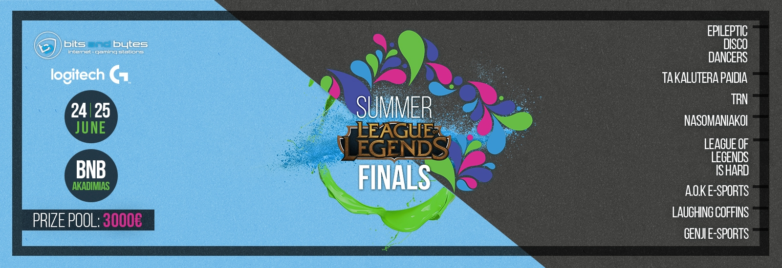 League of Legends - BCHALLENGER LAN Finals @ 24-25 Jun