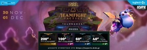 TFT Autumn Tournament 30/11/19 powered by Hype Energy Drinks